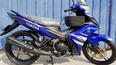 Yamaha LC 135 Japan GP Limited Low Mile 1pakcik
