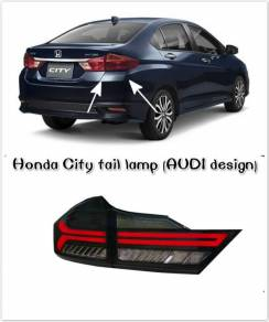 Honda City tail lamp daylight cover side mirror