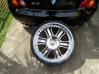 Sport rim ace original 22 inch super chrome