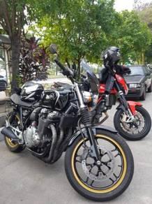 Honda cb1100 classic bike cafe racer