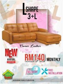 L-shape sofa offering