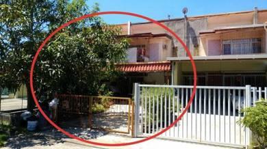 Double Storey Intermediate Terrace house at Taman Kohizan