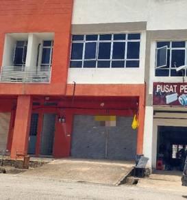 Senawang medan perniagaan double story shop for RENT