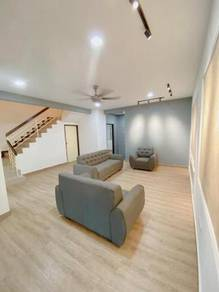 Taman Megah Ria, Double Storey House, New Renovation and Paint