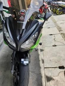 Kawasaki ER-6F 99% Macam Baru Promosi
