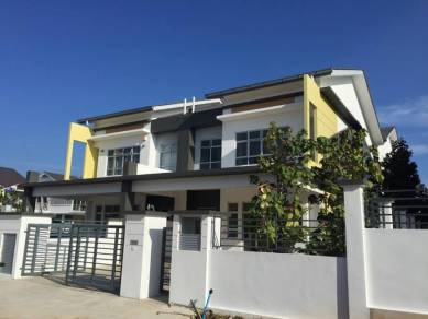 Cluster House at Bandar Baru Kangkar Pulai, Fortune Hill