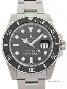Rolex submariner date 116610ln Pre-owned 2015