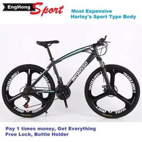 Sport Bike 3 blades bicycle 26inch mountain bicycl