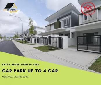 15 mins to PJ New Double Storey House Damansara Kepong Selayang