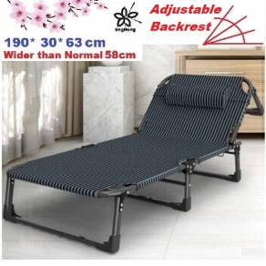 2020 Folding Portable Camping Canvas Lazy Bed