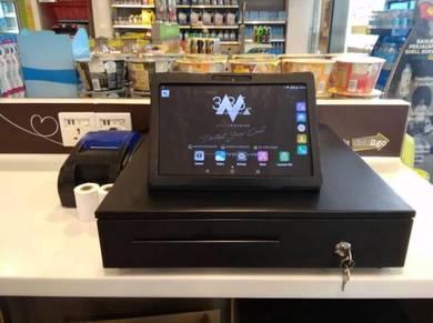 Tablet POS System Mesin Cashier Cash Register PKP