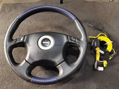 Subaru Momo Steering Wheel Paddle Shift & Roller