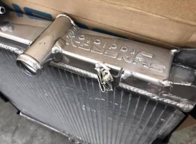 Synergy aluminium radiator proton saga iswara