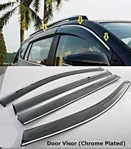 Volvo s60 s90 XC60 XC90 chrome lining door visor
