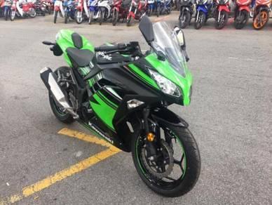 Kawasaki Ninja 250 Stock Clearance (0 Mileage)