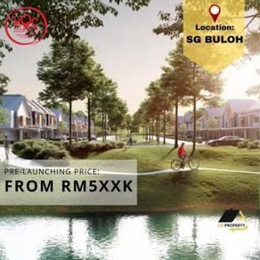 Sg buloh Sungai new house Double Storey landed near Kota Damansara