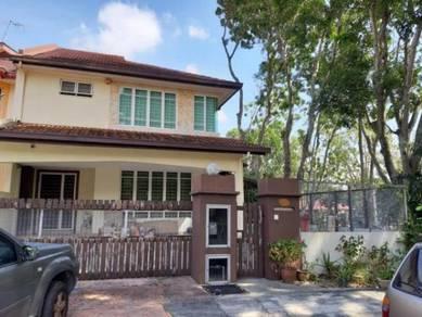 2 Storey Terrace House Endlot for sale.- Jalan Kristal Sek 7