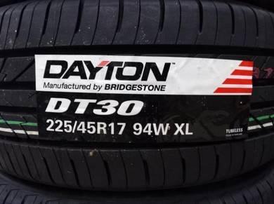 225/45/17 Dayton DT30 Tyre Bridgestone Tayar