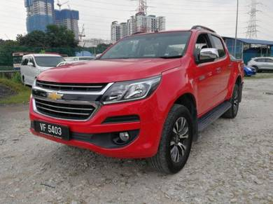 Chevrolet COLORADO 2.5 (A) LTZ,Under Warranty