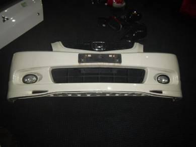 CL7 Accord Euro R Front Bumper White