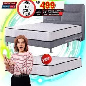 Buy 1 queen free 1 queen spring mattress