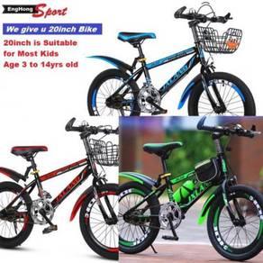 """Sport Kid Bike, 20"""" Basikal Kanak"""