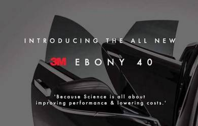 3m Ebony 40 Tinted