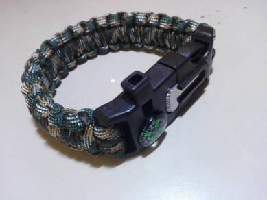 Survival Paracord 550 Bracelet