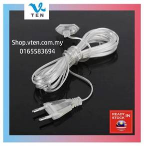 Extension cable 5meter Power Cable EU Plug 240V