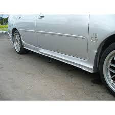 Proton waja r3 side skirt pu material x paint