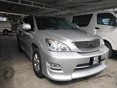 Actual 08/Reg 12 Toyota HARRIER 2.4 G (A) FACELIFT