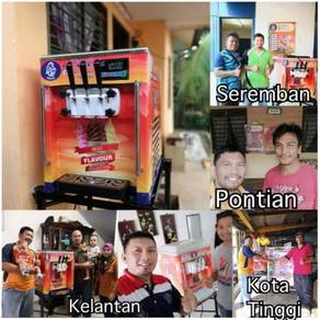 Machine Soft Ice Cream Mesen Aiskrim