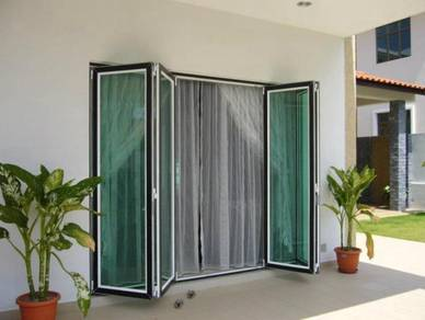Glass Folding Door (credit card available)