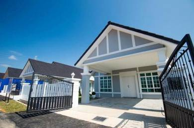 [0 dp Booking 5K only ] seremban town single sty bungalow house 50x85