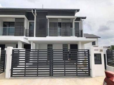 [ Easy Exit Highway ] 20x75 New Freehold 2 Storey House, Free 10% D/P