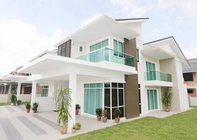 Last 5 units ,seremban 22x70 2sty terrace house booking 2k
