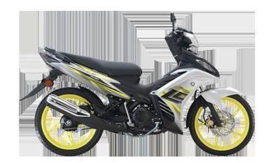 Yamaha LC 135 Loan kedai black list boleh apply