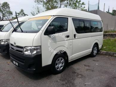 Toyota Hiace Van Sewa Rental Kuala Lumpur Selangor