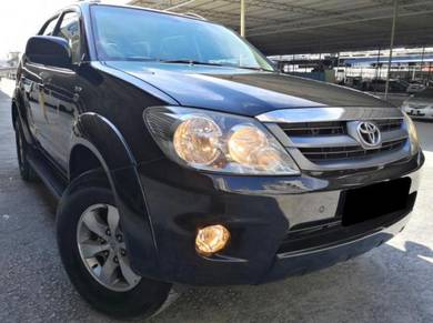 Toyota Fortuner 2.5G MANUAL TRD (D) 4X4 SUV