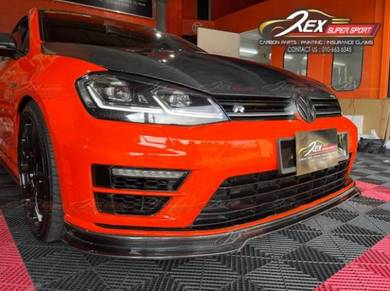 Golf Mk7 GTI R Front Lip Carbon Forged Diffuser