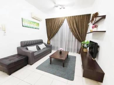 [ Fully Furnish ] Casa Tiara Condo Subang Jaya SS16 l Near KTM l LRT