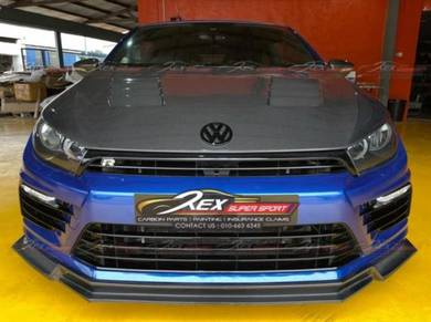 Scirocco R Facelift Bodykit Set Front Rear PP