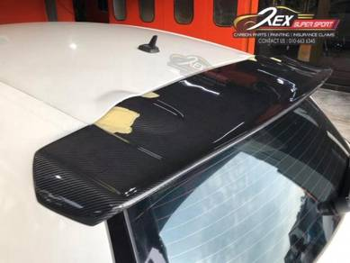 Scirocco R Spoiler Carbon Fiber Wing Forged