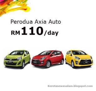 Perodua Axia l Rental l Shah Alam l Pj