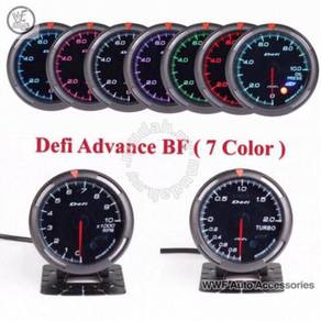 Defi advance bf meter with 7 colour