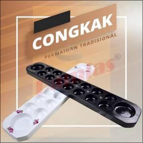 Congkak Kayu Permainan Traditional Melayu / Games
