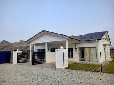 Cash Back Full Loan RM22K Balok Baru Single Storey House Zero Payment