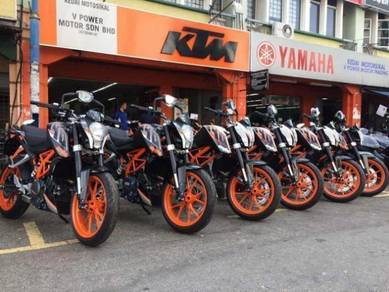 KTM 390 DUKE 390 (Warehouse Sales) Termurah