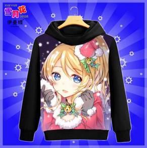 Anime love live long sleeve sweater