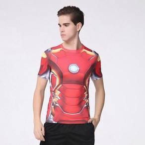 Marvel Avengers spiderman ironman slim fit t-shirt
